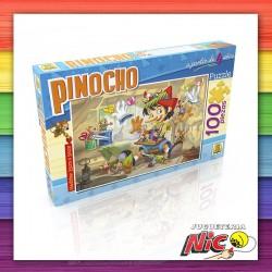 Puzzle 100 Piezas Pinocho