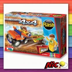 Rasti 4x4 - 120 piezas