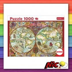 Puzzle 1000 Piezas Mapa...