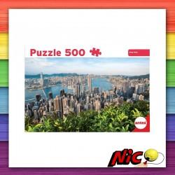 Puzzle 500 Piezas Hong...