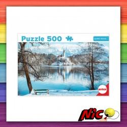 Puzzle 500 Piezas Lago Bled...