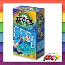 Arco de Futbol 3 en 1