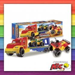 Camión Super Truck con 2...