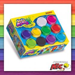 Duramasa Potes x 10 colores