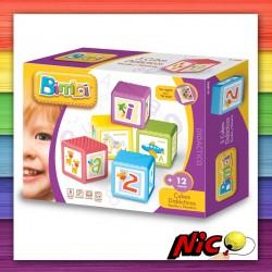 Cubos didácticos x5 | Bimbi